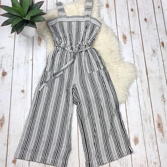 ed00f8cc92d6 Bebe Girl Stripe Jumpsuit